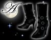 Basic black boots no sox