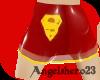 (AH23) red super skirt