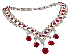 Dazzling Ruby Necklace