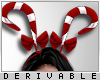 0 | Candy Cane Hairband