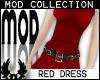 -cp Mod Red Dress