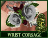 Wrist Corsage Silver