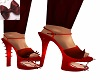 Burg Bite me Shoes Red