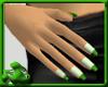 Dainty Nails - Green Rev