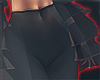 I│Flare Pants Blk RLL