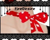 FD Red Rockabilly Ribbon