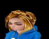 teen-braid crown w/bangs
