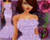 [D] Purple Razor Gown