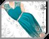 ~AK~ Lace Dress - Teal