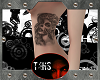 [T4HS] Skull Girl Tattoo