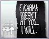 ☸ Oversized Karma