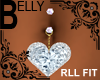 Heart Belly Ring