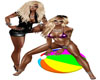 Beach Ball Friends 3Pose
