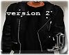 ! Leather Jacket + Shirt