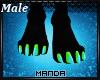 .M. Xavi Paw Feet M