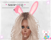 [CCQ]Bunny Ears- Pink