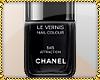 V Chanel Nail Polish Blk