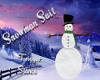 GUP* Snowman scarf