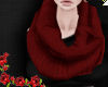 ♔ Red Scarf
