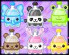 Cute Soda Pop Animals