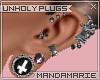 ♡M Unholy Plugs