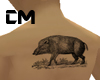 Majestic Boar Back Tat