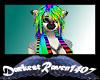 Rainbow n Stripe Caprice