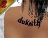 Dukeith UpBack