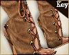 (Key)Lace Up Camel