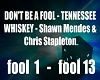 Don´t be a Fool