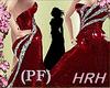 HRH PF Peps Silver Red