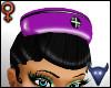 PVC Nurse hat prpl(f)