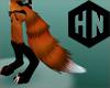 orange fox tail m/f