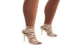 Skye White Heels
