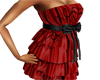 LW Red Hearts Dress