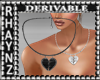 Heart Necklace Mesh *F