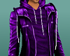 NL-Rocker Jacket Purple