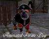 Animated Pirate Dog