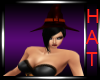 Adella Witchy Red Hat