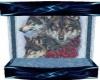 {AL} Wolf Wall Fountain