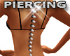 Spiked Back Piercing