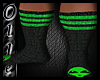 Toxic ALien Socks