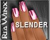 Wx:BCA Slender Pink Nail