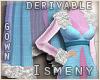 [Is] Fur Robe Gown Drv