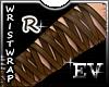 EV Leather Wrist Wraps R
