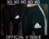 XeO. Adidas Joggers.