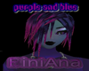 Pink Blue Hair