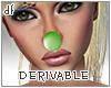*Dona*Clown Nose Derivab