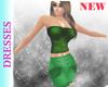 Elena Cinched Green