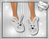 Cute Bunny Slippers Whte